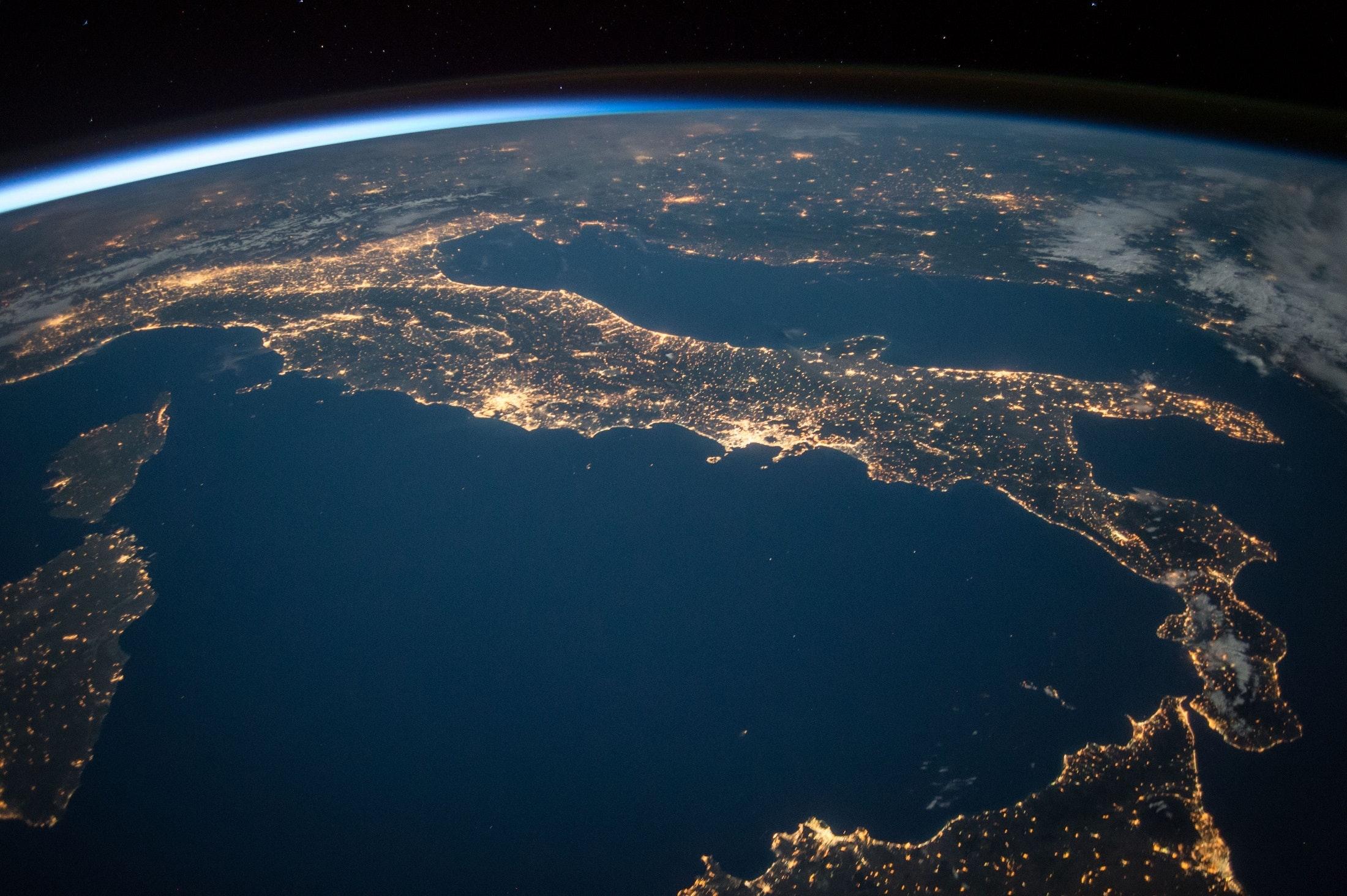 Jorden från rymden.
